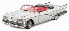 Buick Limited Convertible 1958 Sun Star Platinum 1/18