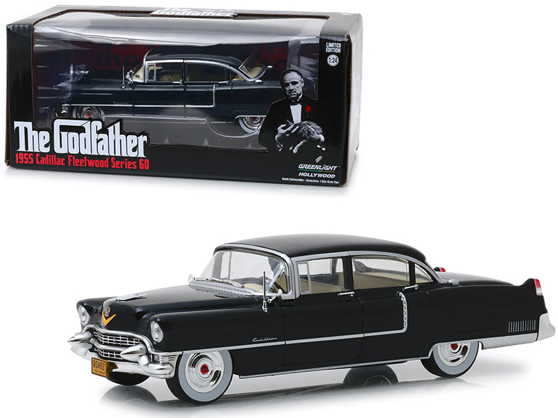 Cadillac Fleetwood Series 60 1955 The Godfather Greenlight 1/24