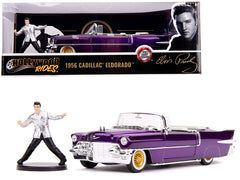 Cadillac Eldorado convertible 1956 Elvis Jada Hollywood Rides 1/24