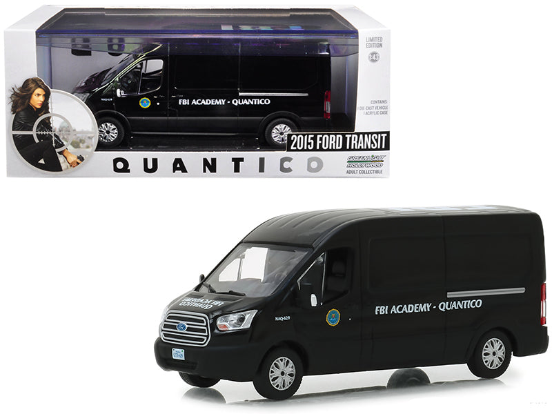 Ford Transit 2015 FBI Greenlight 1/43