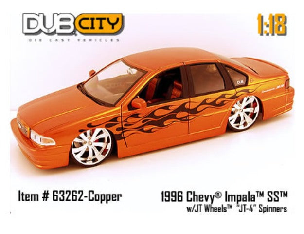 Chevrolet Impala SS 1996 Jada Dub City Big Baller$ 1/18