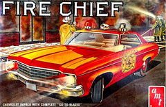 Chevrolet Impala 1970 Fire Chief AMT 1/25