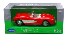 Chevrolet Corvette 1957 Welly NEX 1/24