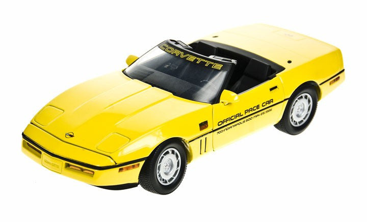 Chevrolet Corvette Convertible Indy Pace Car 1986 Greenlight 1/18