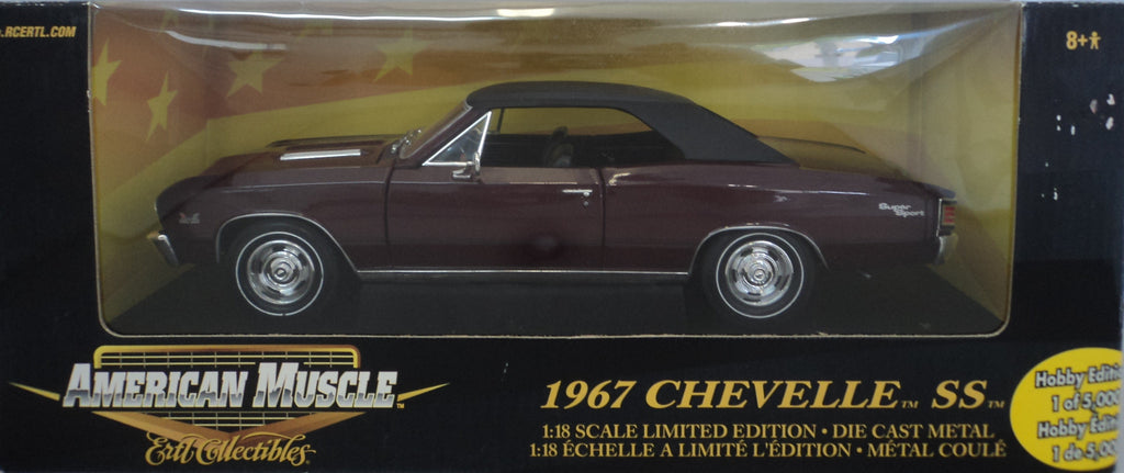 Chevrolet Chevelle SS 1967 ERTL American Muscle 1/18