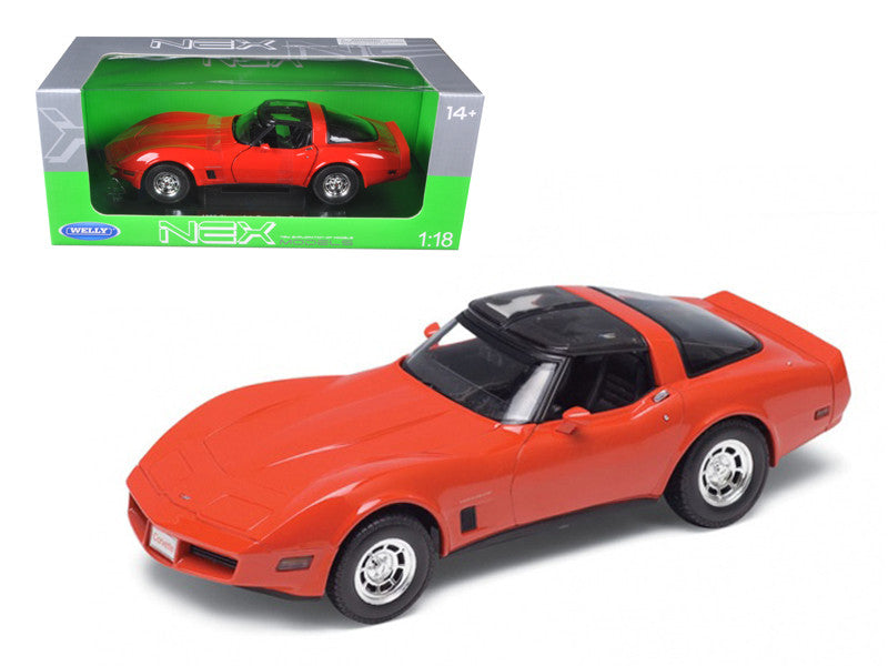 Chevrolet Corvette Coupe 1982 Welly NEX 1/18