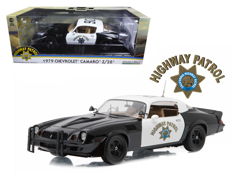 Chevrolet Camaro Z/28 Police 1979 Greenlight 1/18