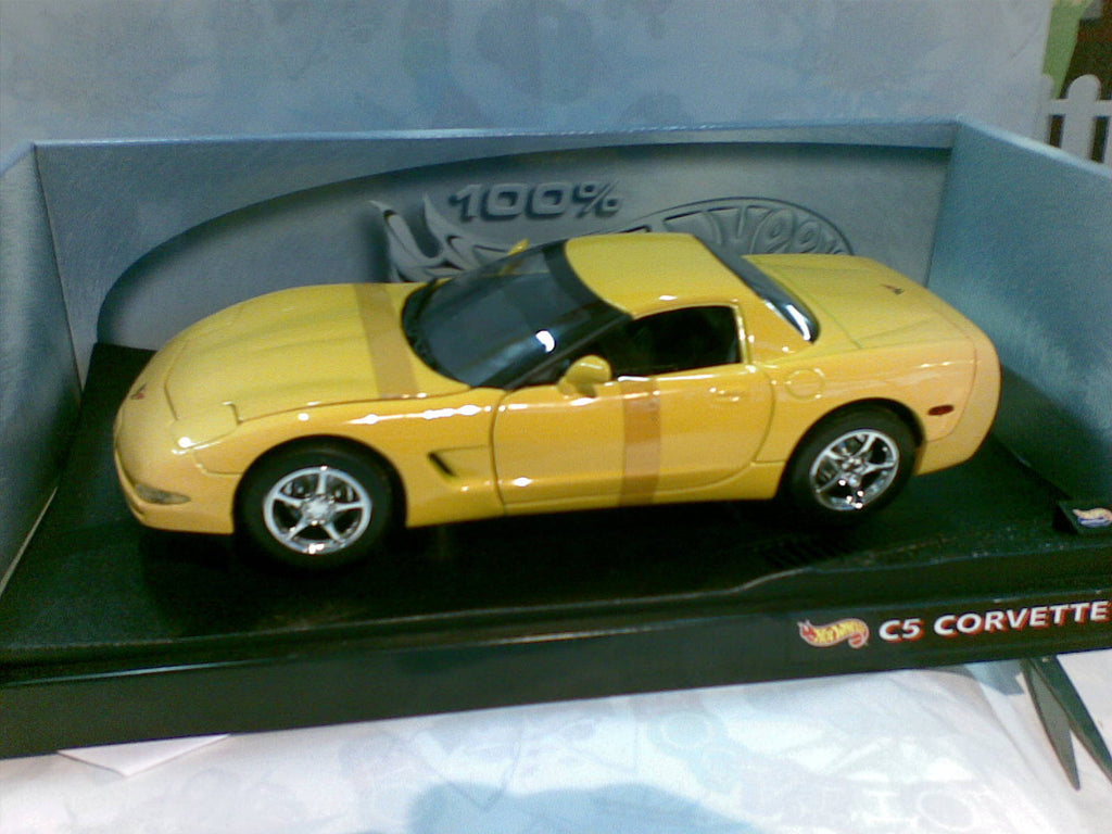 Chevrolet Corvette C5 Coupe HotWheels 1/18