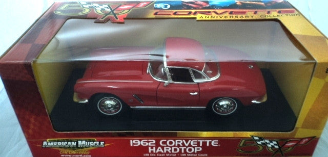 Chevrolet Corvette Hard Top 1962 ERTL American Muscle 50th Anniversary