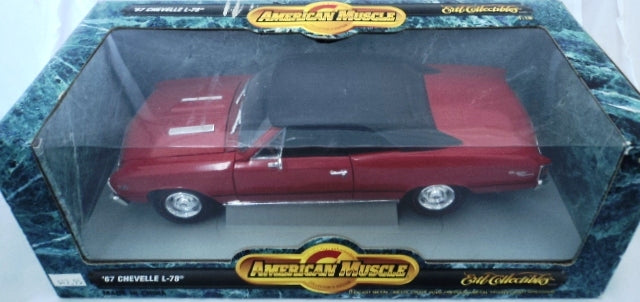Chevrolet Chevelle L-78 1967 ERTL American Muscle 1/18