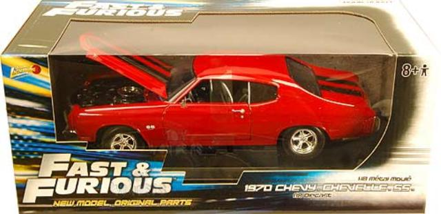 Chevrolet Chevelle SS Fast & Furious 1970 Johnny Lightning 1/18