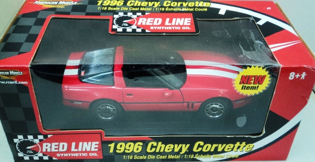 Chevrolet Corvette 1986 ERTL American Muscle Red Line 1/18