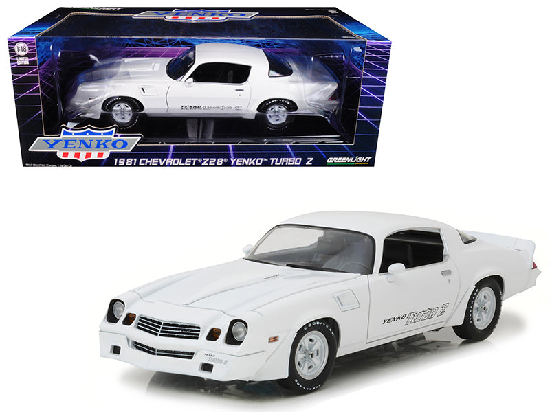 Chevrolet Camaro Z/28 Yenko Turbo Z 1981 Greenlignt 1/18