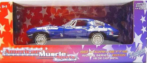 Chevrolet Corvette 1963 ERTL American Muscle World Series Edition 1/18
