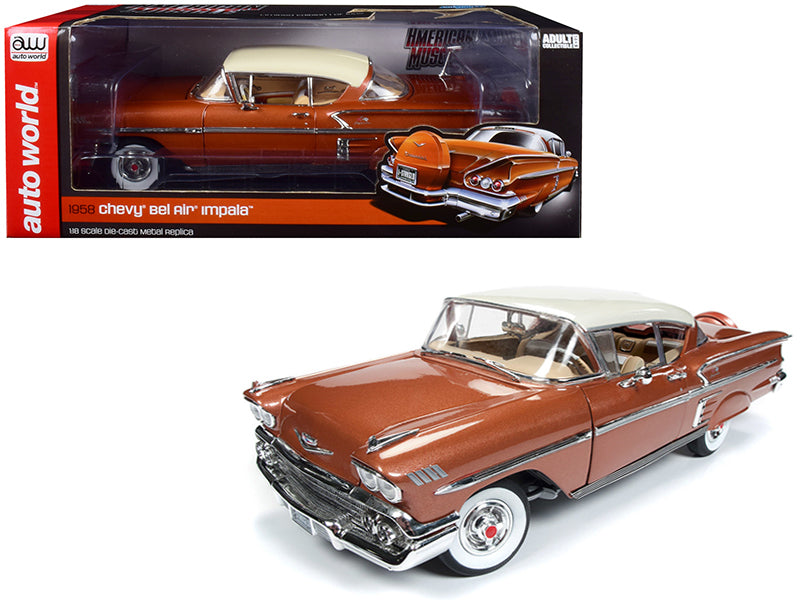 Chevrolet Impala 1958 Auto World 1/18
