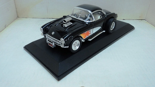 Chevrolet Corvette Gasser 1957 Road Signature 1/18
