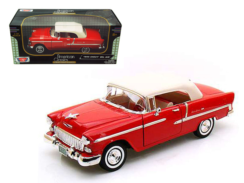 Chevrolet Bel Air Convertible 1955 Motor Max 1/18