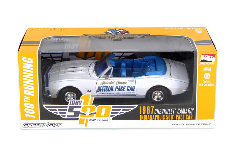 Chevrolet Camaro Convertible Pace Car 1967 Greenlight 1/24