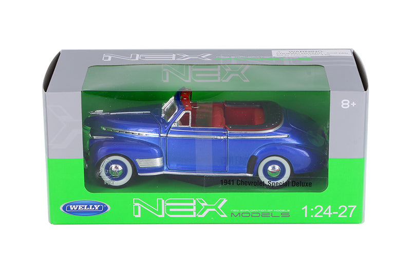 Chevrolet Special Deluxe Convertible 1941 Welly NEX 1/24