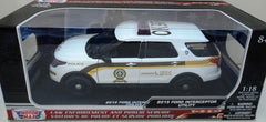 Ford Explorer Interceptor Utility Police SQ  2015 Motor Max 1/18