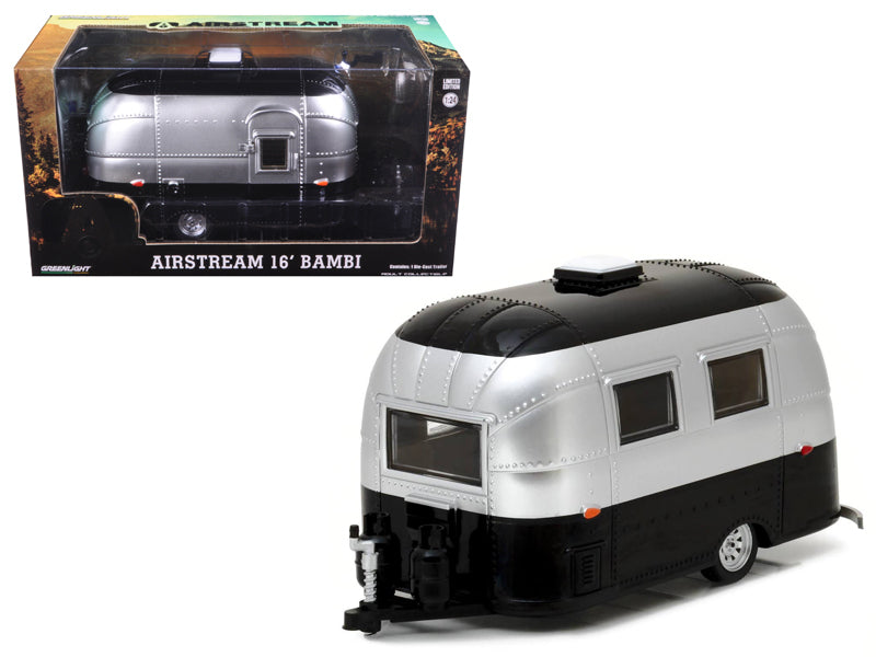 Roulotte Airstream 16' Bambi Greenlight 1/24