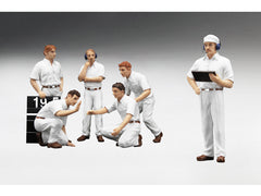Ensemble de Figurines Pit Crew TSM Model 1/18