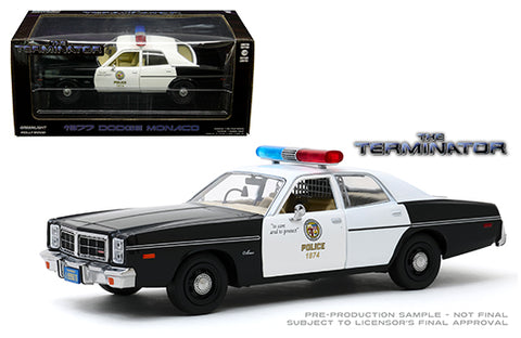 Dodge Monaco Metropolitan Police 1977 Greenlight Hollywood 1/24