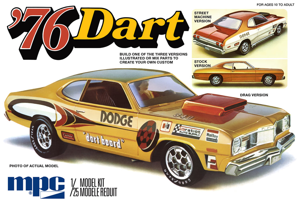 Dodge Dart 1976 MPC 1/25