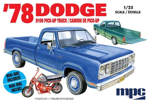 Dodge D100 Pick Up 1978 MPC 1/25