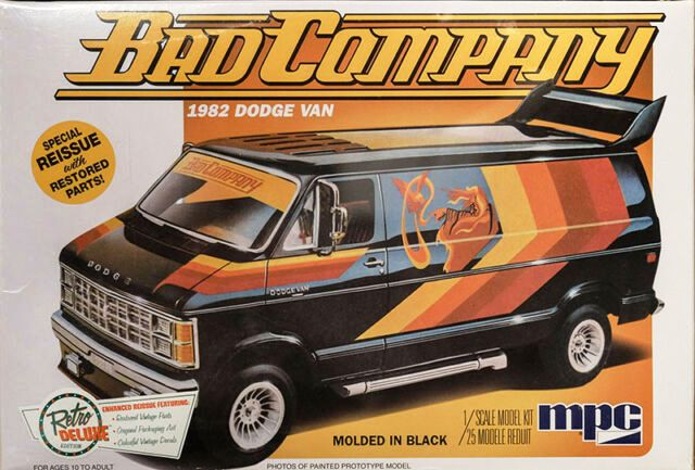 Dodge Van 1982 Bad Company MPC 1/25