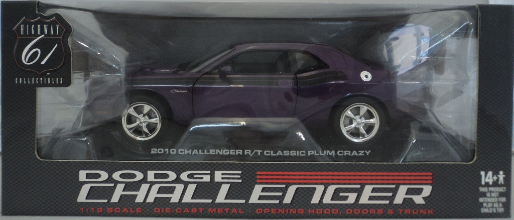 Dodge challenger R/T 2010 Highway 61 1/18