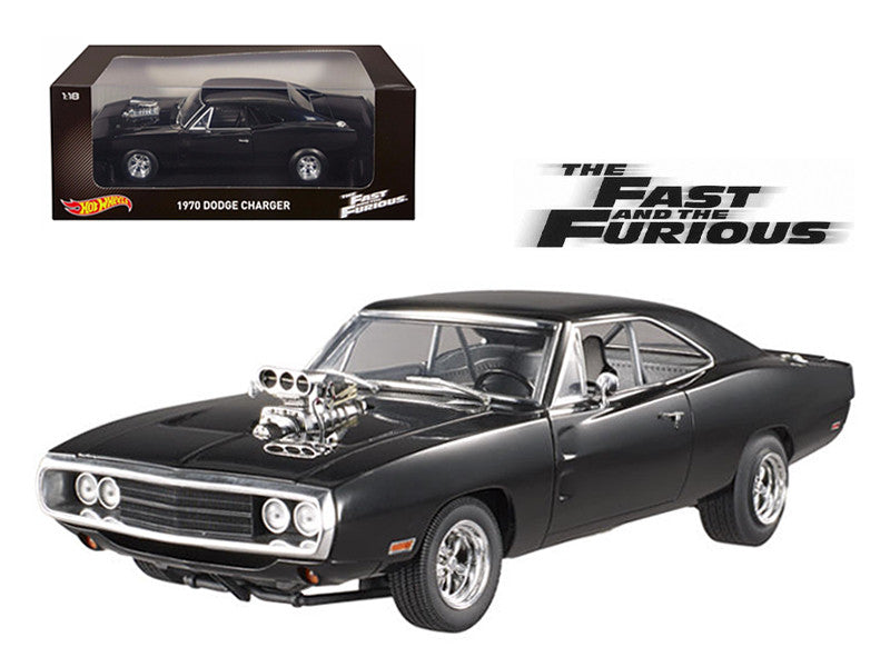 Dodge Charger R/T 1970 Fast & Furious Hot Wheels 1/18