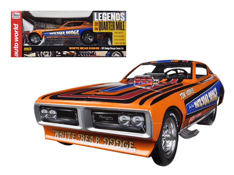 Dodge Charger Funny Car 1971 Auto World legends of the Quarter Mile 1/18