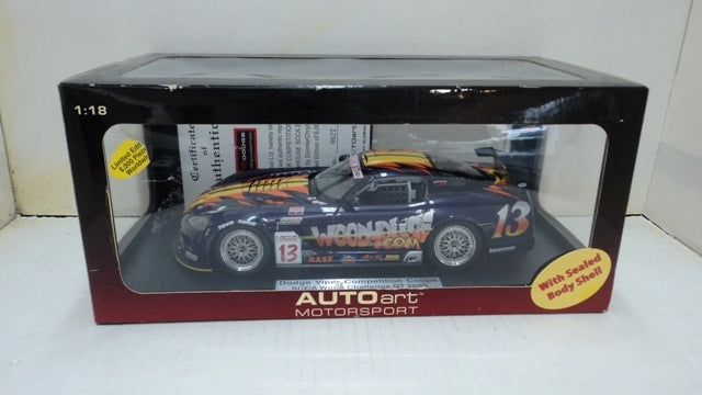Dodge Viper Competition Coupe AUTOart Motorsport 1/18