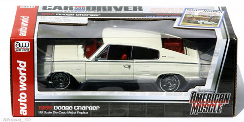 Dodge Charger 1966 Auto World 1/18