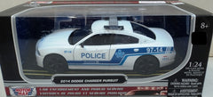 Dodge Charger Pursuit Police de Montréal 2011 Motor Max 1/24