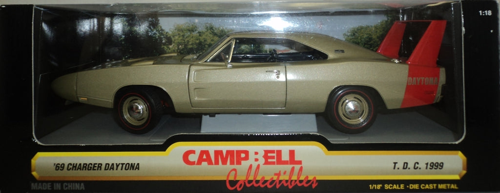 Dodge Charger Daytona 1969 ERTL American Muscle Campbell Collectibles 1/18