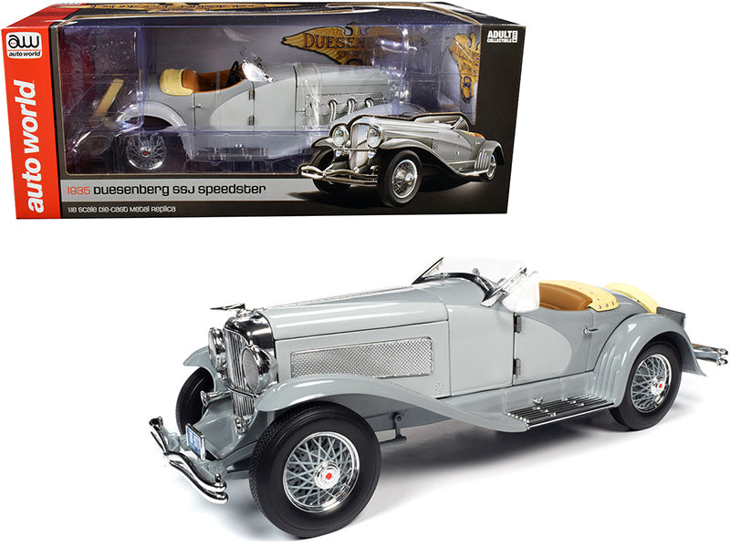 Duesenberg SSJ Speedster 1935 Auto World 1/18
