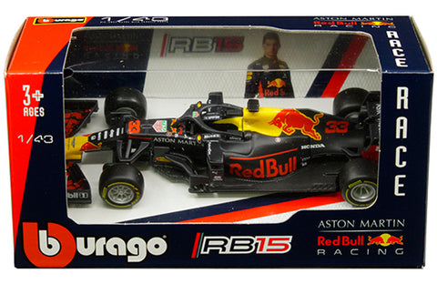 Aston Martin Red Bull Racing RB15 Burago 1/43