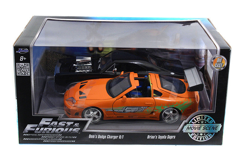 Dodge Charger R/T et Toyota Supra Fast & Furious Jada 1/24
