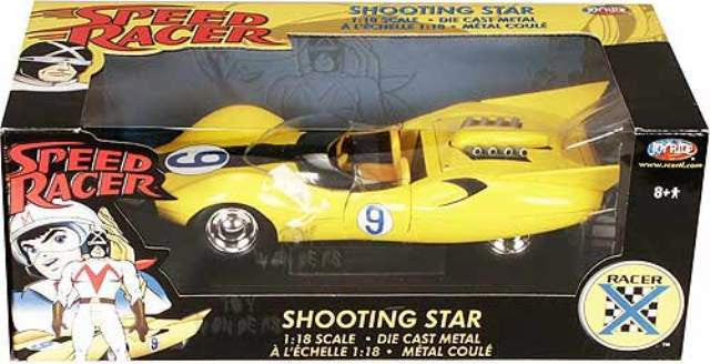 Shooting Star Racer X ERTL Joy Ride 1/18