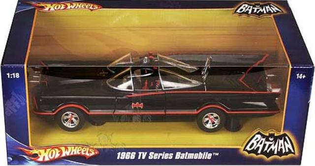 Batmobile 1966 HotWheels Foundation 1/18