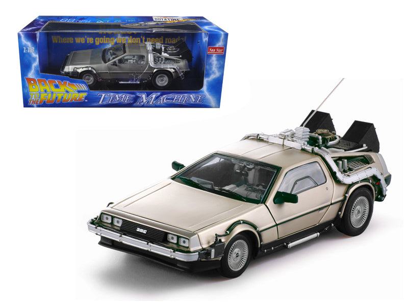 Delorean Back To The Future Sun Star 1/18