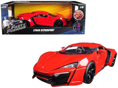 Lykan Hypersport fast & Furious Jada 1/18