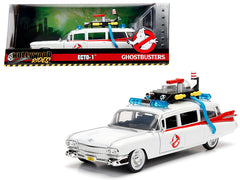 Cadillac 1959 Ambulance Ghostbusters ECTO-1 Jada Hollywood Rides 1/24