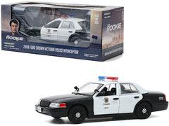 Ford Crown Victoria 2008 Police Interceptor Greenlight Hollywood 1/24