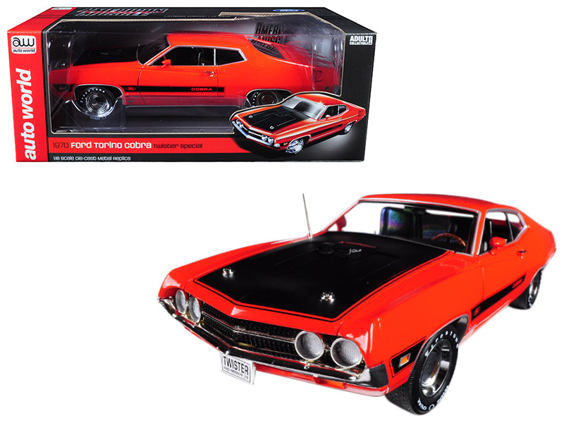 Ford Torino Cobra ''Twister Special'' 1970 Auto World 1/18