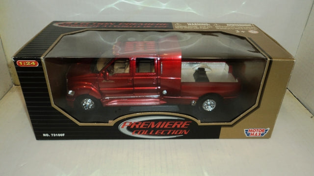 Ford F-650 Super Crewzer Motor Max 1/24