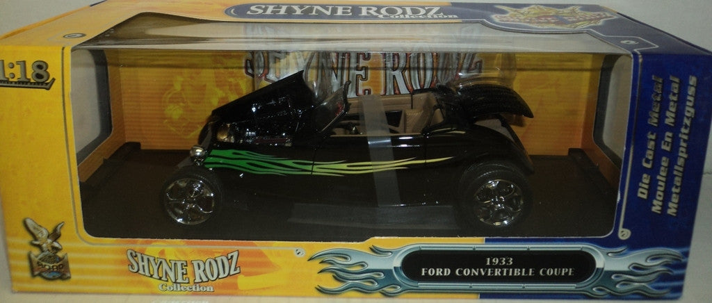 Ford Convertible Coupe 1933 Road Signature Shyne Roadz 1/18