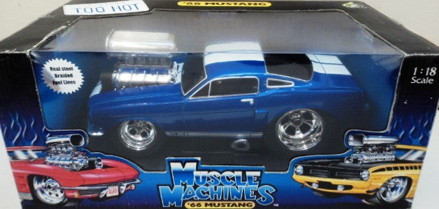 Ford Mustang 1966 Muscle Machine 1/18